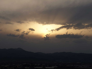 Sunset20130409